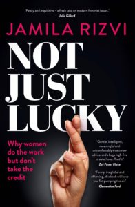 Book called Not Just Lucky by Jamila Rizvi