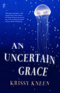 Book called An Uncertain Grace
